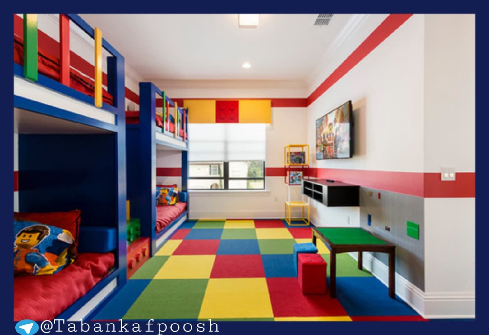 فروشگاه اینترنتی کفپوش اتاق کودک