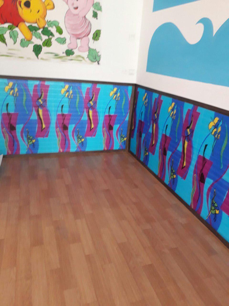 دیوارپوش مهدکودک